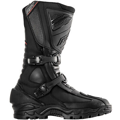 RST Adventure 2 Waterproof Touring Boot Motorbike Motorcycle - Black