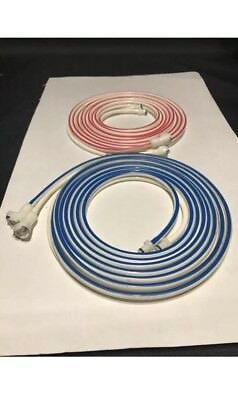 Zimmer Style Tourniquet Hoses 12' Set Of 2 *Original Connectors* ATS2000