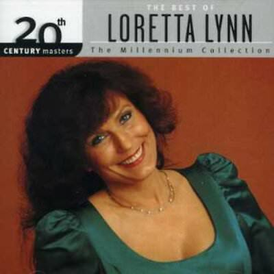 Loretta Lynn - Best Of Loretta Lynn-Millenniu (CD Used Like New) Remastered
