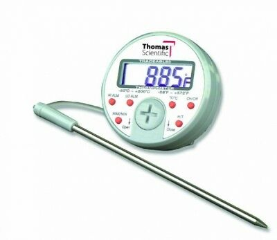 Thomas Traceable Ultra Full-Scale Plus Thermometer, 5.75 Probe Length, -58 to F