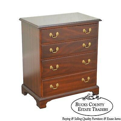 Fancher Furniture Co. Smithfield Collect. Hand Crafted Solid Mahogany Nightstand