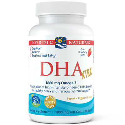 Nordic Naturals DHA Xtra - Potent Support for Brain & Nervous System, 60 Ct.
