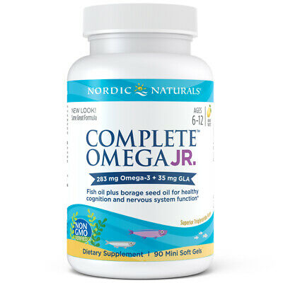 Nordic Naturals Complete Omega Junior - Overall Health and Wellness Supplement