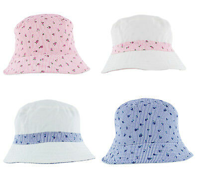 d03aadeda13 LADIES SUMMER FLORAL Bucket Hat Pale Blue or Pink (A1389) - £6.99 ...