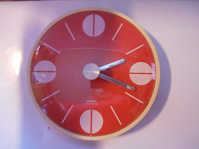 CHRON POP horloge krups clock pendule vintage old