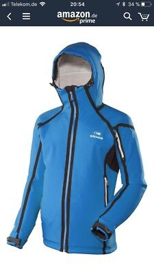 Eider Herren Mountain Funktionsjacke POWER PRO L blau