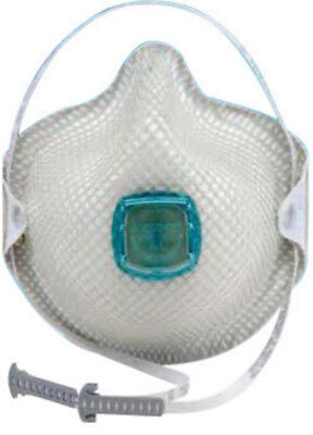 Moldex 2731N100 Small Disposable Particulate Respirator With Ventex valve 5/box