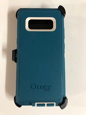 OtterBox Defender Case With Belt Clip Holster for Samsung Galaxy Note 8 Big Sur