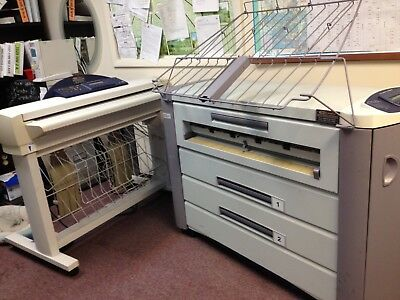 Xerox 510 Wide Body Printer and Scanner