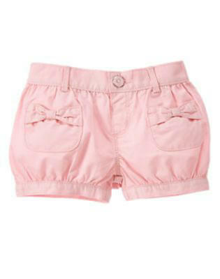 NWT Gymboree Girl PRETTY POPPY Pink Bubble Shorts  Size 2T