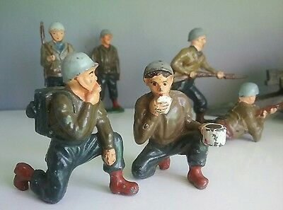 Probably the best toy soldiers series about American GIs by Timpo and Charbens
