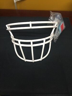 27123b416616 Rawlings Football Quantum Facemask SO2 RXL White With Hardware Face Mask  Guard