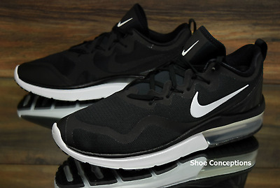 134238b9f81 Nike Air Max Fury Black White AA5739-001 Running Shoes Men s Multi Size