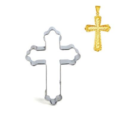 Cross Biscuit Cutter Holy Christening Seamless Cookie Clay Craft Cake Decorating