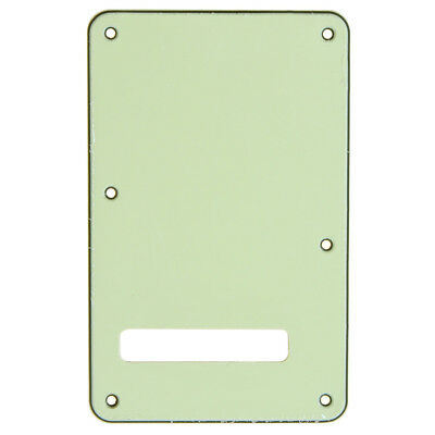 Pale-green 3ply Back Plate Tremolo Cavity Cover For Fender Strat Trem Cover