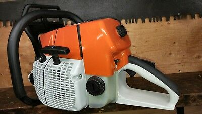 MS660 CHAINSAW WITH NEW METEOR MOTOR 92cc's RUNS EXCELLENT. 36 OREGON BAR CHAIN