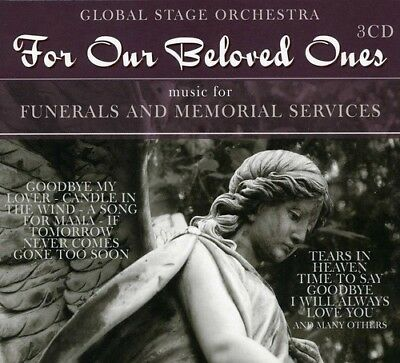 For Our Beloved Ones - 3 DISC SET - Global Stage Orchestra (2012, CD NUOVO)