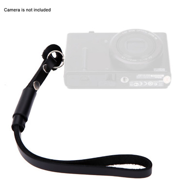 Leather Camera Hand Wrist Strap for Canon Nikon Olympus Sony ILDC Camera