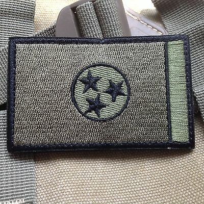 Tennessee TN STATE FLAG USA ARMY MORALE TACTICAL MILITARY BADGE PATCH
