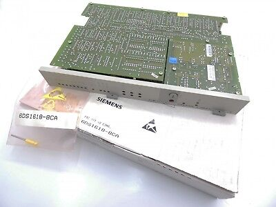 Siemens Teleperm M 6DS1618-8CA 6DS1 618-8CA E-Stand: 08 -unused/OVP-