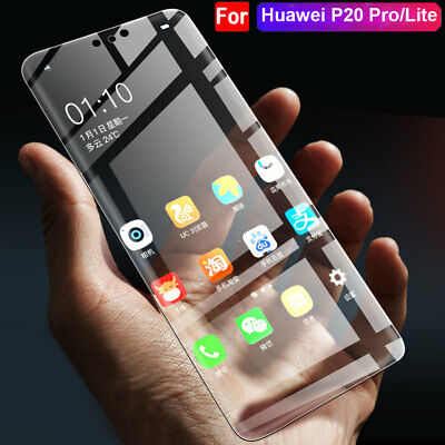 Full Front Rear Displayschutz Folie für Huawei P20 Pro/P20 Lite Screen Protector