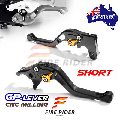 Fit Yamaha TMAX 530 SX / DX 2017 CNC SBG GP Black Short Front Rear Brake Levers