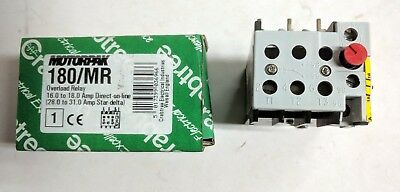 Crabtree 180/MR 16-18A DOL 28-31 SD  Overload Relay 26500PC