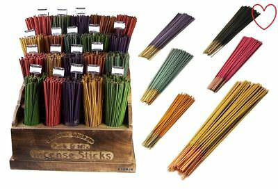 20 Mixed Scents Coloured Incense Sticks