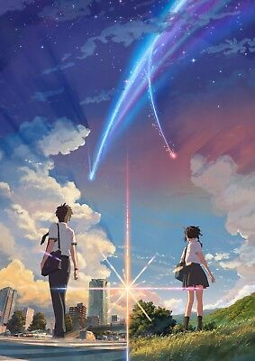 Poster A3 Pelicula Anime Your Name Kimi no Na wa / Anime Film 12