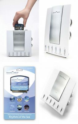 Sound Oasis Sleep Therapy System with Rhythms of the Sea Expansion Card Included