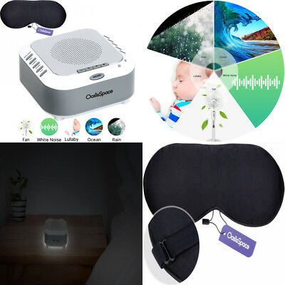 OasisSpace Update S3 Pro White Noise Sound Machine - Portable Sleep Therapy...