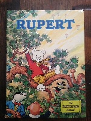 Rubert Bear Daily Mail Annual