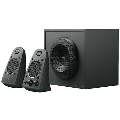 Logitech Z625 Powerful THX Sound 2.1 Speakers for TVs, Game Consoles and PC