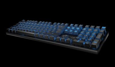 -DE ROCCAT SUORA QWERTZ Tastatur Mechanisch Mechanical PC USB Gaming Keyboard