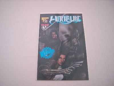 Witchblade : Issue #1/2 (DF Wizard Authentic Blue Foil Edition)