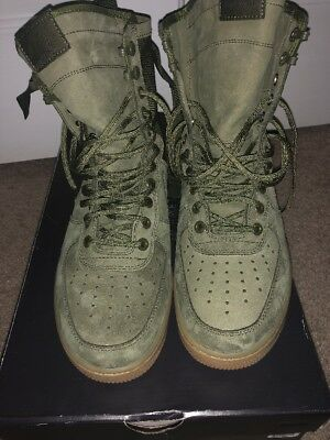 7b24d119607697 New Nike Mens SF AF1 Special Field Air Force 1 Faded Olive 859202-339