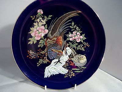 CABINETS BEAUTIFUL IMPERIAL KUTANI ENAMELLED PLATE 26cm GREATLY REDUCED !!!