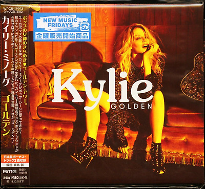 2 Japan Only Bonus Tracks Kylie Minogue Golden 2018 Digipak Cd Sent From Berlin!