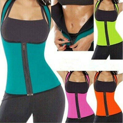 HOT Thermo Sweat Neoprene Body Shaper Corset Waist Trainer Cincher Clincher Vest