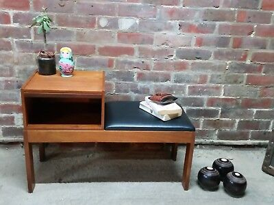 Chippy Vintage Retro Telephone Phone Table Chair Bench Seat