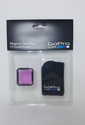 NEW GoPro Magenta Dive Filter for STANDARD HOUSING -ABDFM-301- NEW GO PRO!