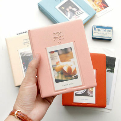 64 Pockets Photo Album Case For Fujifilm Instax Mini8 7s 25 50s 90 Storage Pink