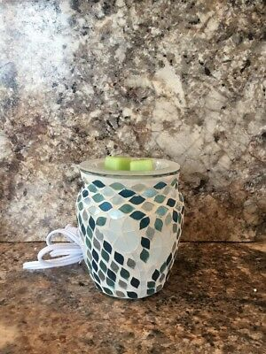 NEW Mosaic Scented Wax Warmer  Garden Delight FREE SHIPPING