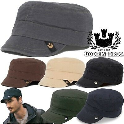 GOORIN BROS Cadet Private Hat Cap Military Fashion Casual Vintage Cotton