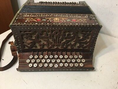 Rare Silvio Soprani Castelfidaro Antique Melodeon Accordion Project