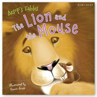 Aesop's Fables The Lion and the Mouse, New Paperback, Miles and Kelly
