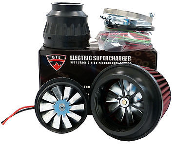 5PSI ELECTRIC SUPERCHARGER TURBO ADD HORSEPOWER + TORQUE INTAKE FOR Dodge