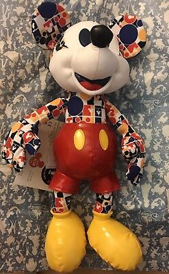 DISNEY Mickey Mouse Memories Plush March Limited Edition Brand new Bright & Bold