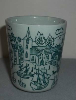 Vintage Hoyrup Nymolle Art Paience Cup Limited Edition Denmark