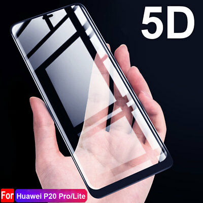 9H 5D Full Cover Tempered Glass Film for Huawei P20 Pro/P20Lite Screen Protector